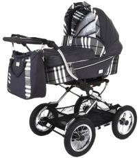 Люлька Baby Care Sonata Dark grey