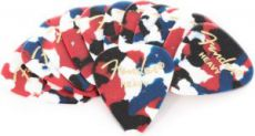 Медиатор Fender 351 Confetti, Heavy 12pcs